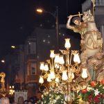 San Jaime y la Virgen del Rosario.